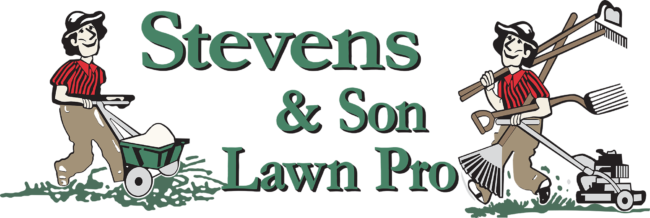 Stevens and Son Lawn Maintenance Logo
